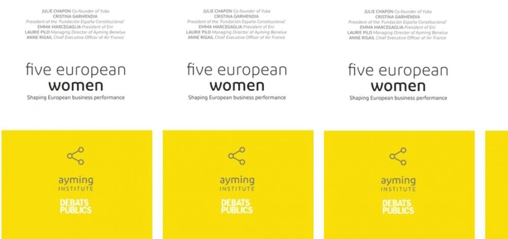 Five european Women Book cover by Ayming Institute