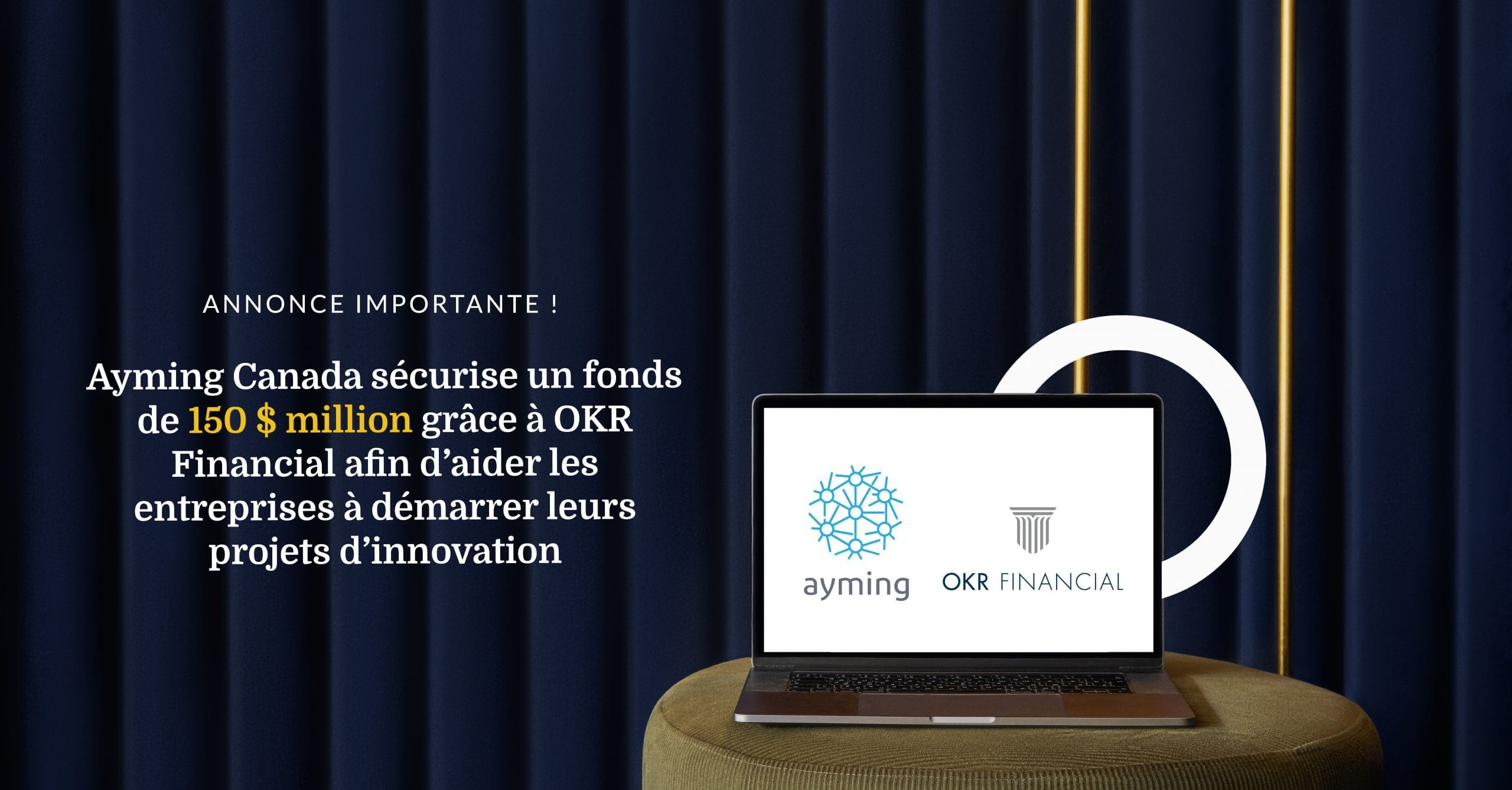 New - $150M Fund OKR banner4 - FRENCH
