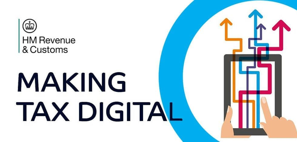 Banner oficial del HMRC para Making Tax Digital – Fase II