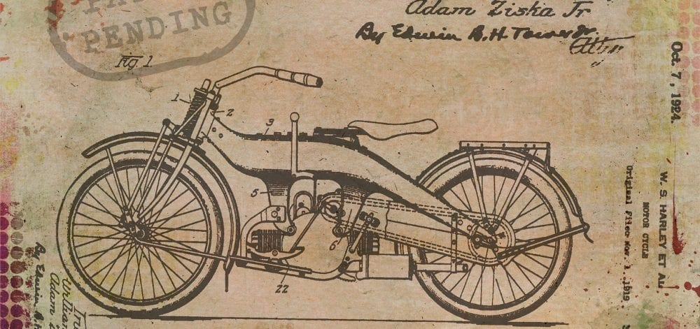 Patented Motorcycle
