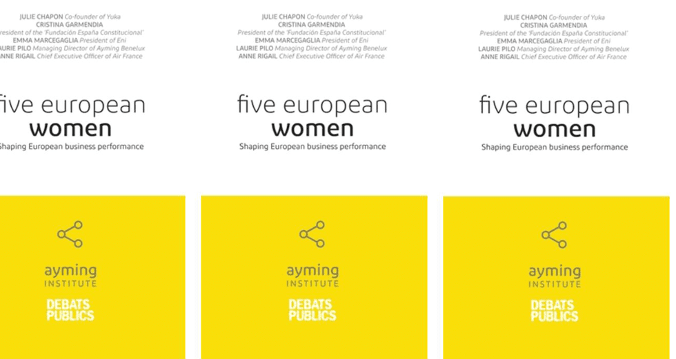Book cover of 'Five European Women' by Ayming Institute
